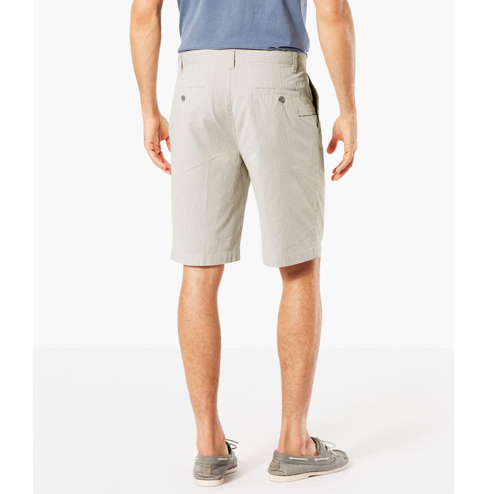 DOCKERS Men's Perfect Classic Flat-Front Shorts - PORCELAIN KHAKI-0660