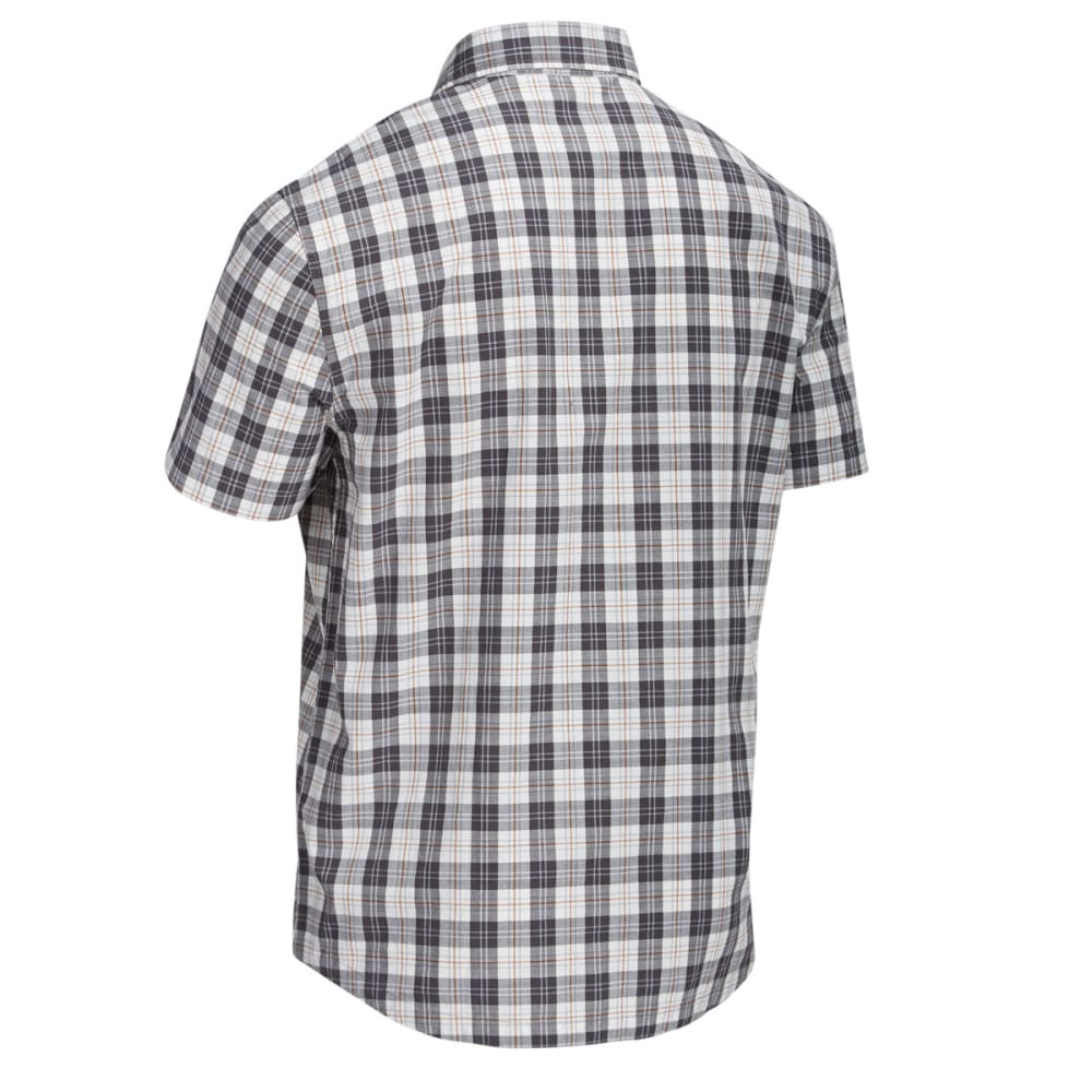 EMS® Men's Ranger Plaid Short-Sleeve Shirt - PEWTER