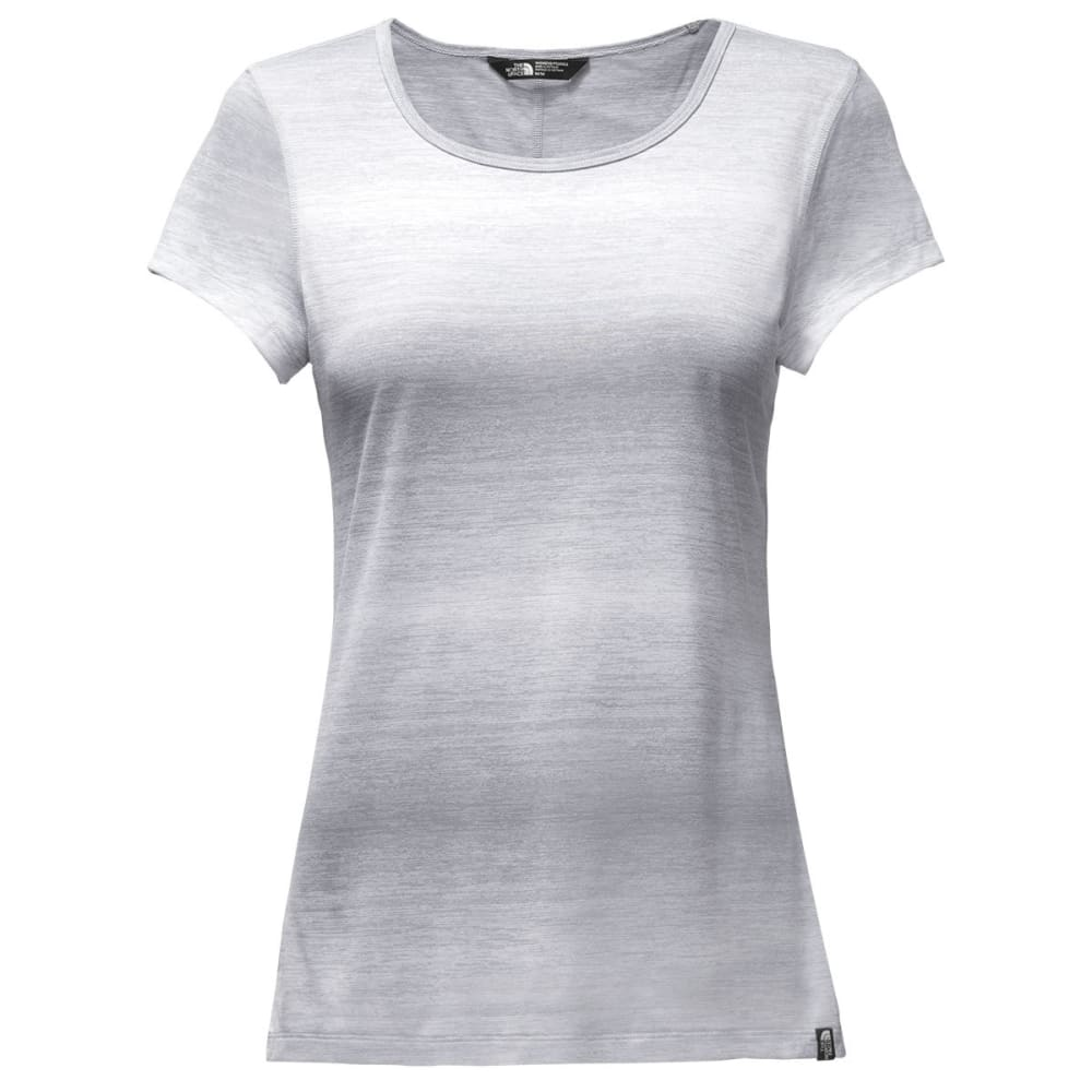 THE NORTH FACE Women's Short-Sleeve Restless Top - DYX-LT GRY HTHR
