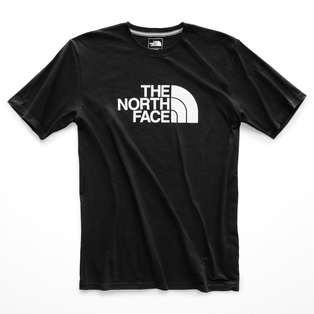 THE NORTH FACE Men's Short-Sleeve Half Dome Graphic Tee - KY4 TNF BLK TNF WT