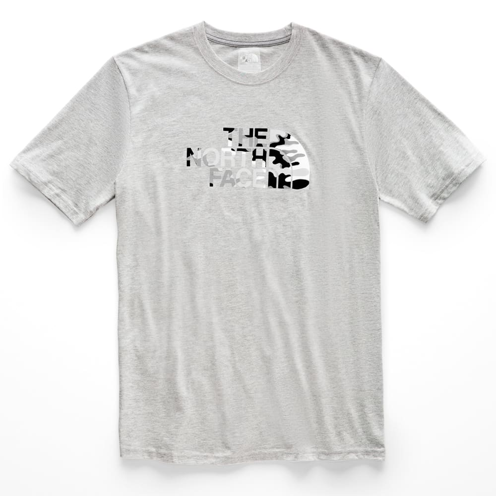 THE NORTH FACE Men's Short-Sleeve Half Dome Graphic Tee - BB3 LIGHT GREY