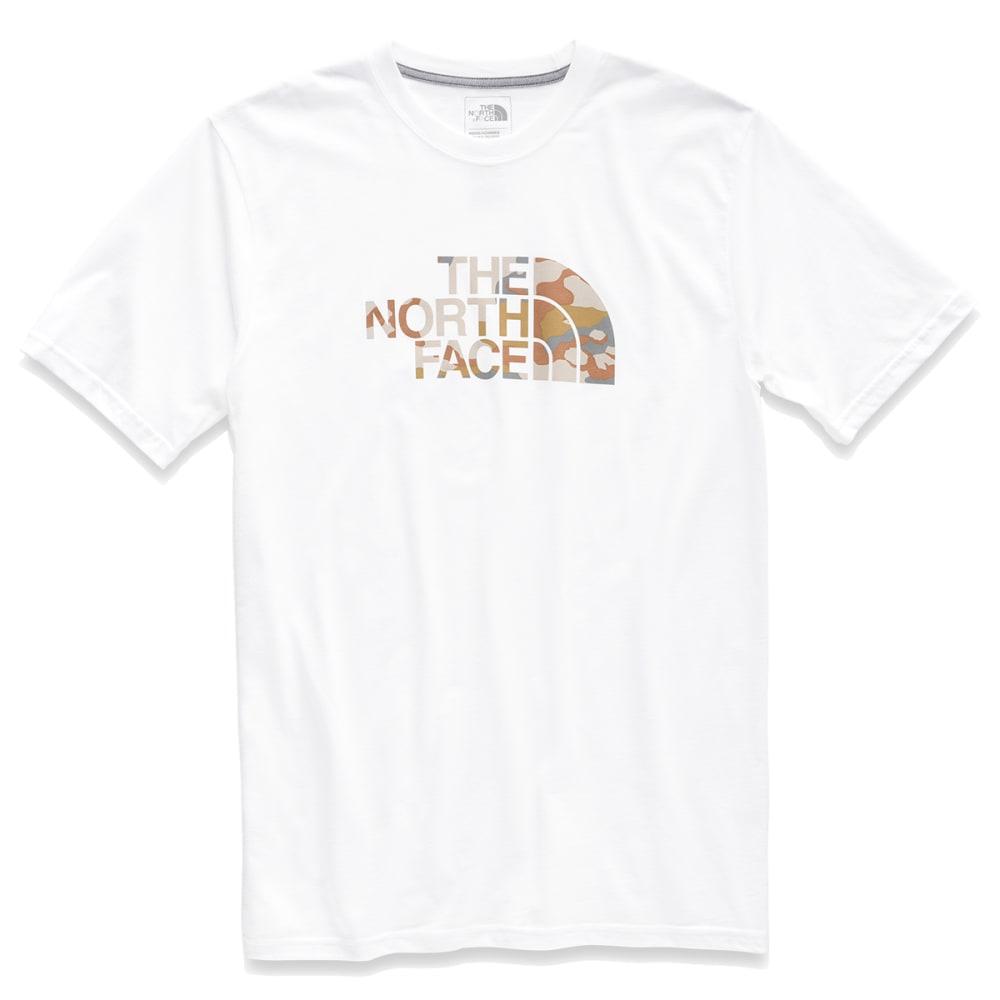 THE NORTH FACE Men's Short-Sleeve Half Dome Graphic Tee - BK4 WHITE MOAB KHAKI