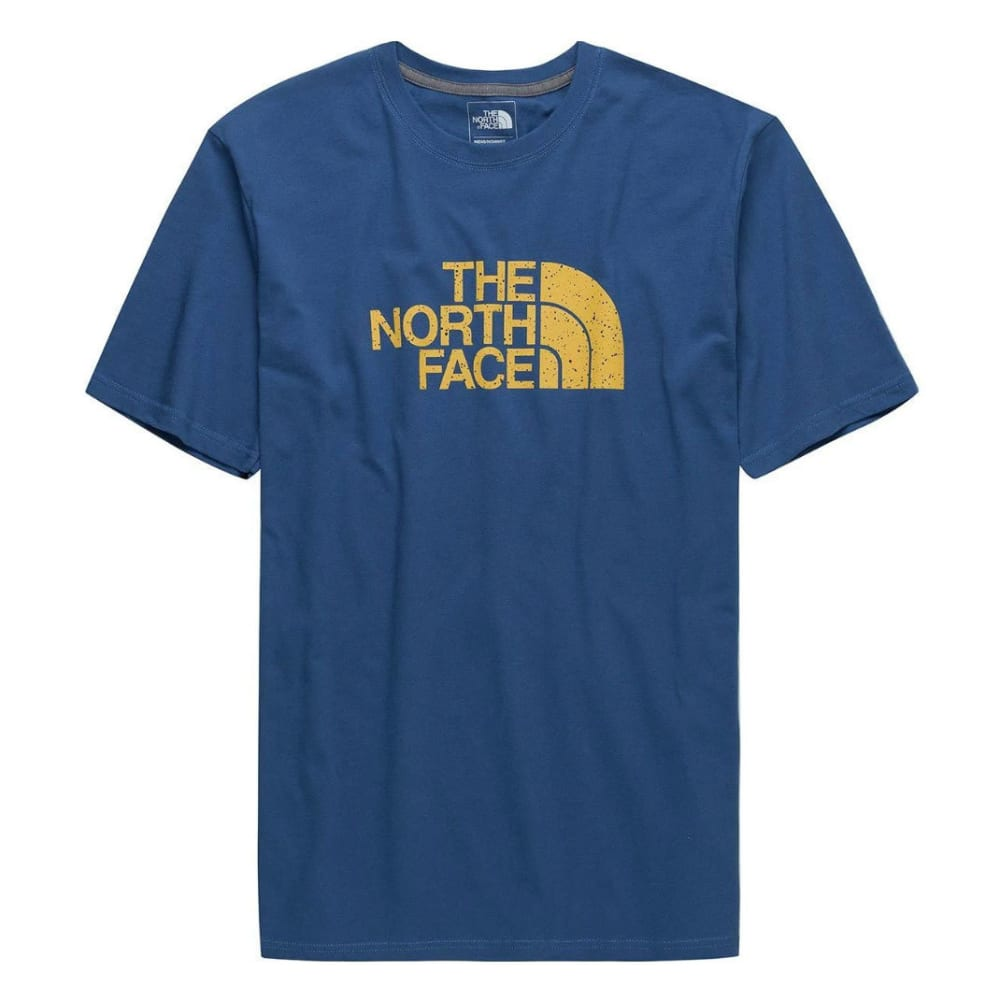 THE NORTH FACE Men's Short-Sleeve Half Dome Graphic Tee - BG8 - DISH BLUE