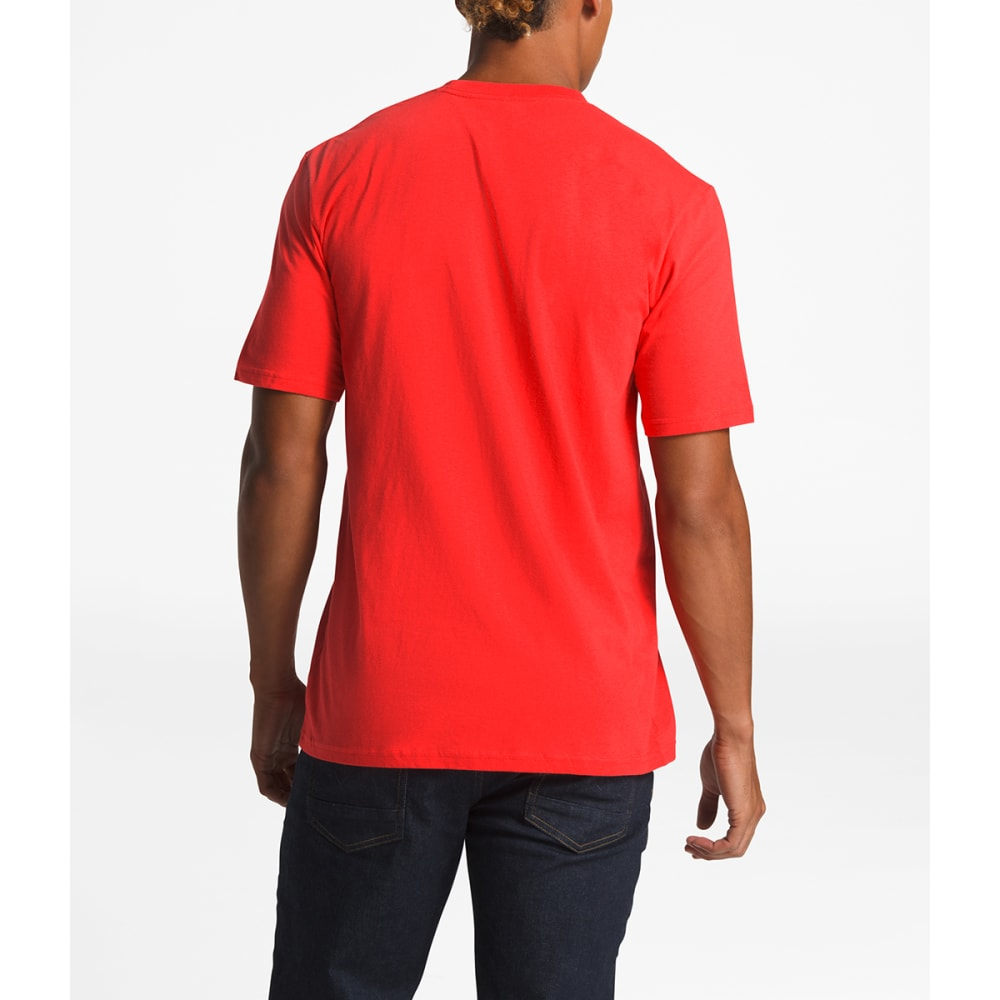 THE NORTH FACE Men's Short-Sleeve Half Dome Graphic Tee - M6J FIERY RED