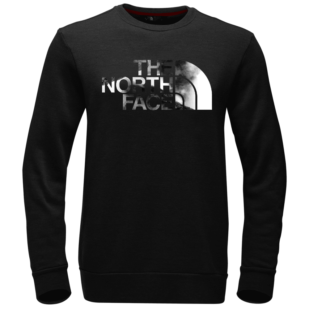 THE NORTH FACE Men's Jimmy Chin Fleece Crew Pullover - JK3-TNF BLACK