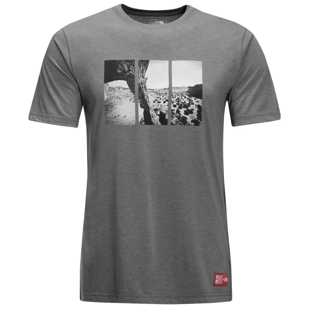 THE NORTH FACE Men's Short-Sleeve Jimmy Chin Graphic Tee - DYY-TNF MED GRY HTHR