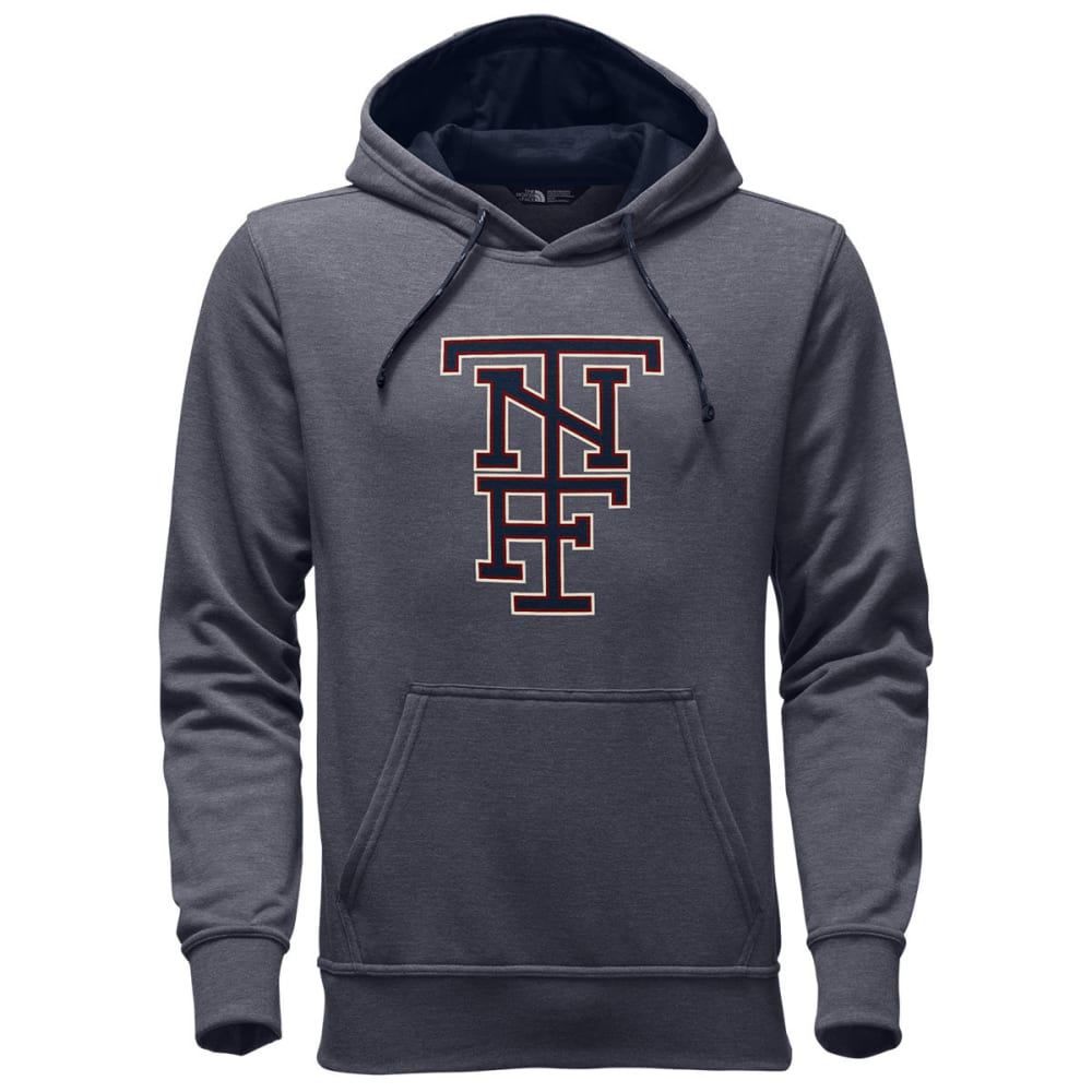 THE NORTH FACE Men's Americana Pullover Hoodie - DYY-TNF MED GRY HTHR