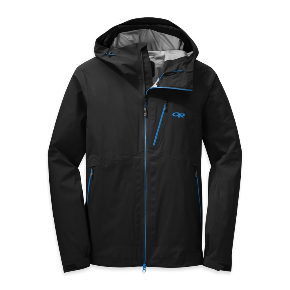 OUTDOOR RESEARCH Men's Axiom Jacket - BLACK/TAHOE