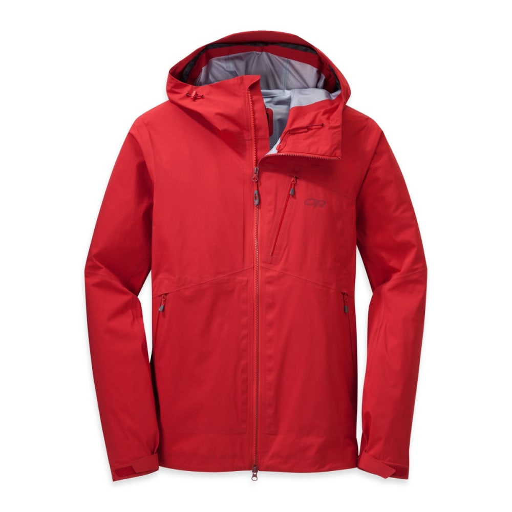OUTDOOR RESEARCH Men's Axiom Jacket - HOT SAUCE