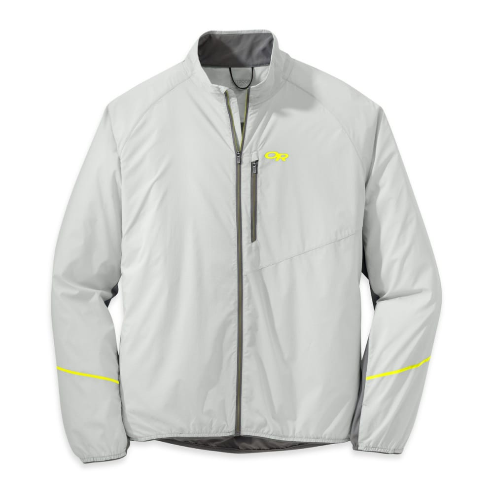 OUTDOOR RESEARCH Men's Boost Jacket - ALLOY/PEWTER