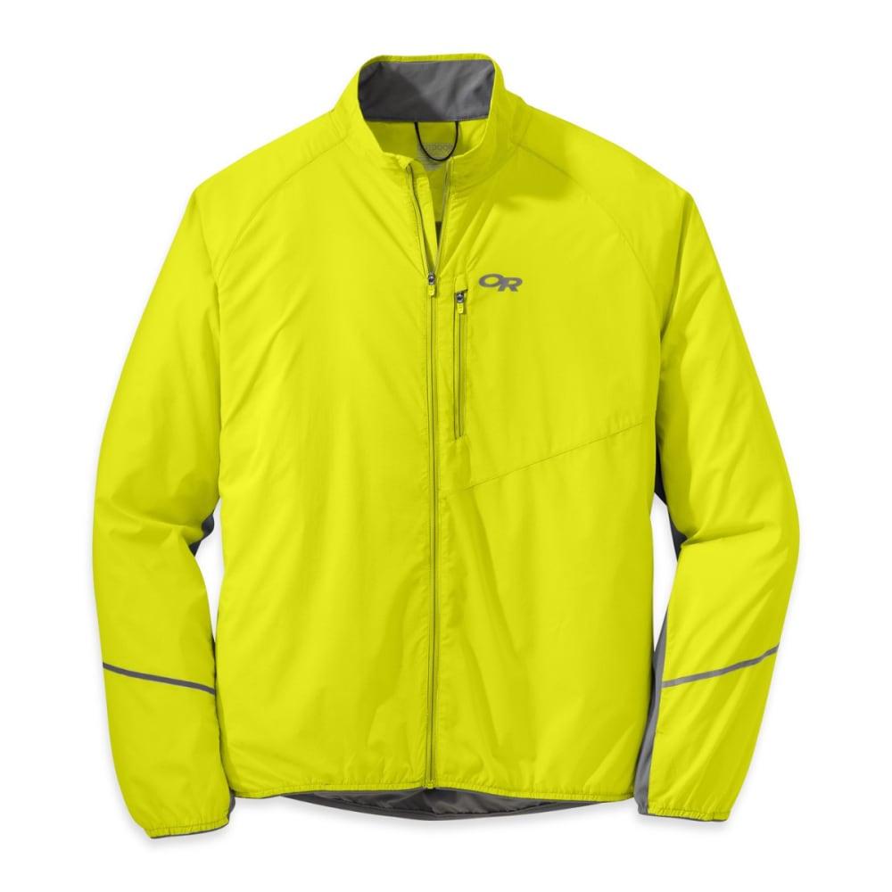 OUTDOOR RESEARCH Men's Boost Jacket - JOLT/PEWTER