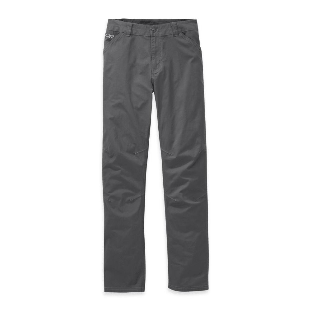 OUTDOOR RESEARCH Men's Brickyard Pants - CHARCOAL