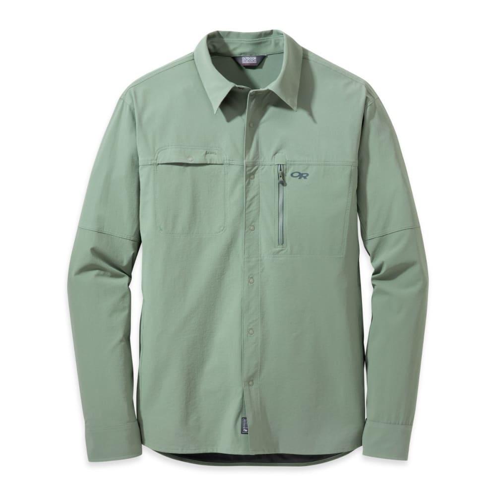 OUTDOOR RESEARCH Men's Ferrosi Utility Long-Sleeve Shirt - SAGE GREEN