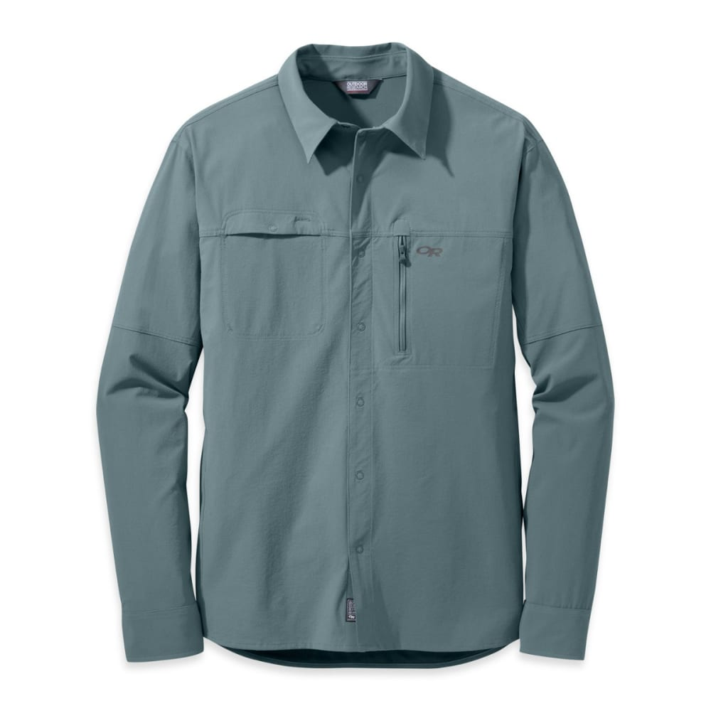OUTDOOR RESEARCH Men's Ferrosi Utility Long-Sleeve Shirt - SHADE