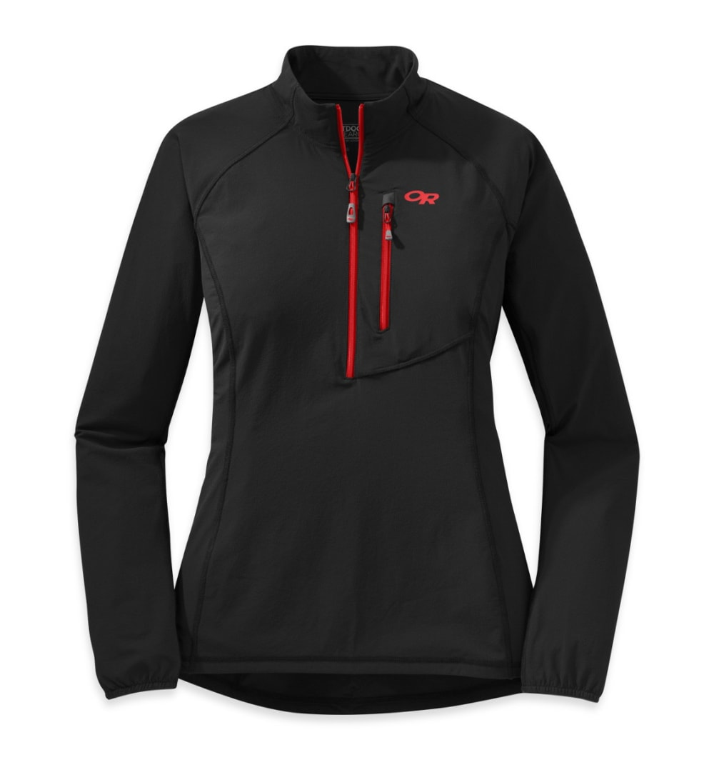 OUTDOOR RESEARCH Women's Ferrosi Windshirt - BLACK