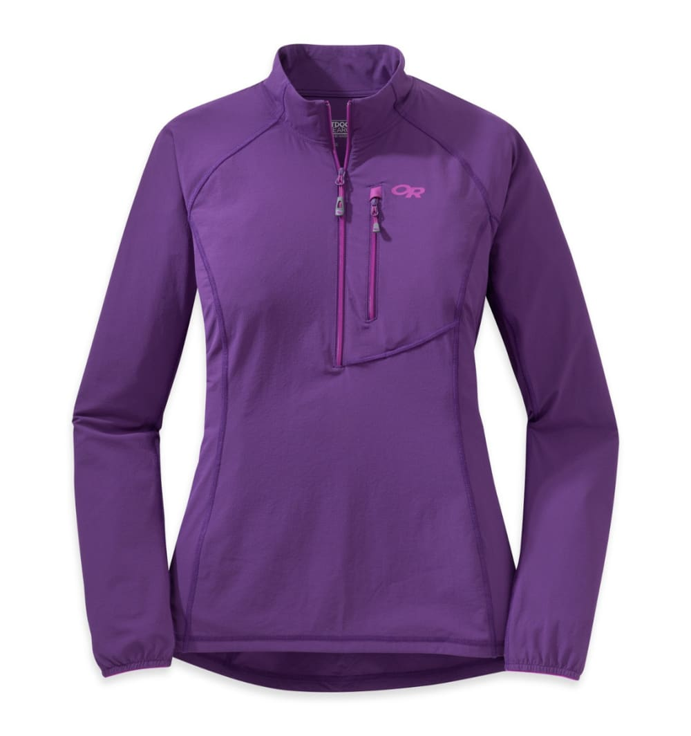 OUTDOOR RESEARCH Women's Ferrosi Windshirt - ELDERBERRY