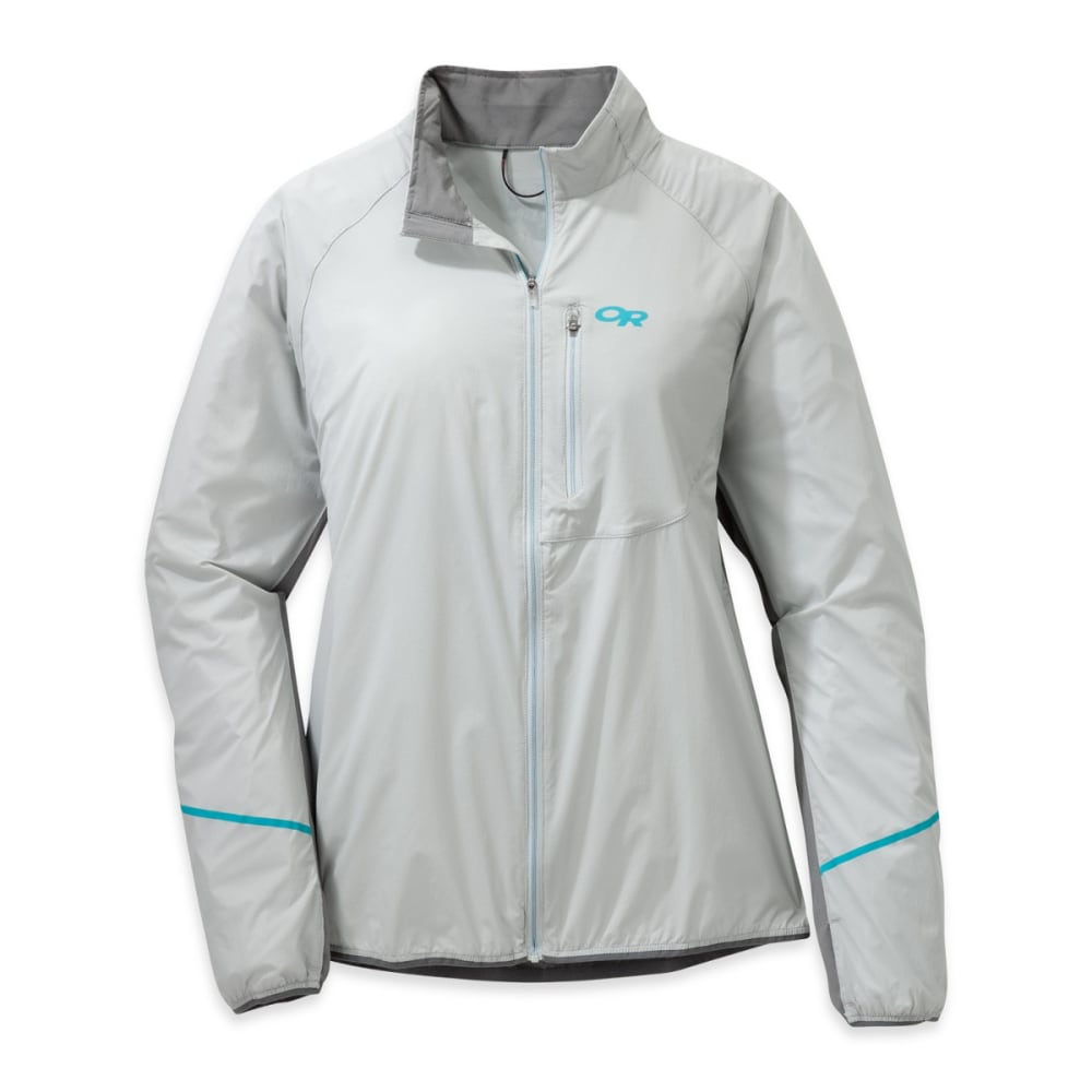 OUTDOOR RESEARCH Women's Boost Jacket - ALLOY/PEWTER