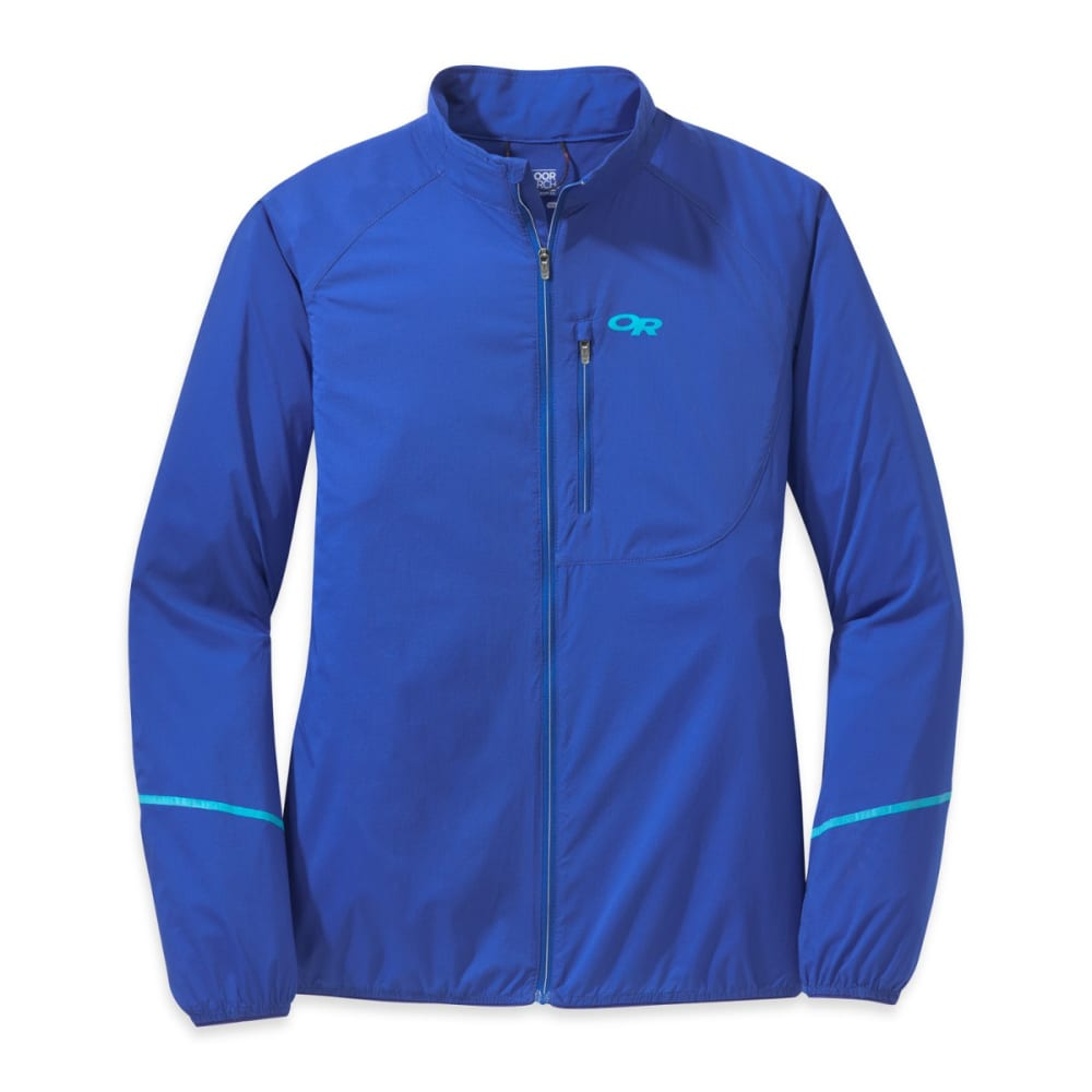 OUTDOOR RESEARCH Women's Boost Jacket - BALTIC/TYPHOON