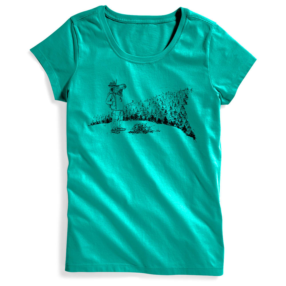 EMS® Women's Moose With a View Graphic Tee - COLUMBIA