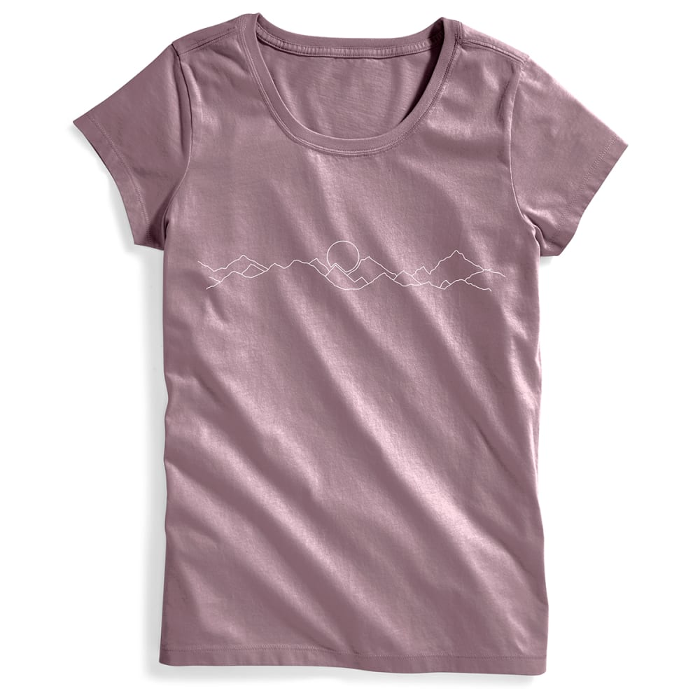 EMS® Women's EMS EM(ountain)S Graphic Tee - ELDERBERRY