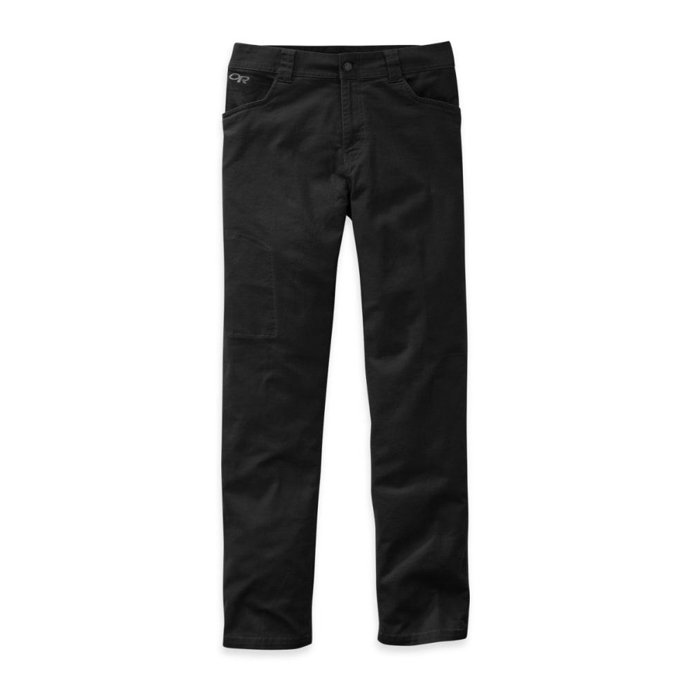 OUTDOOR RESEARCH Men's Deadpoint 30in Pants - BLACK