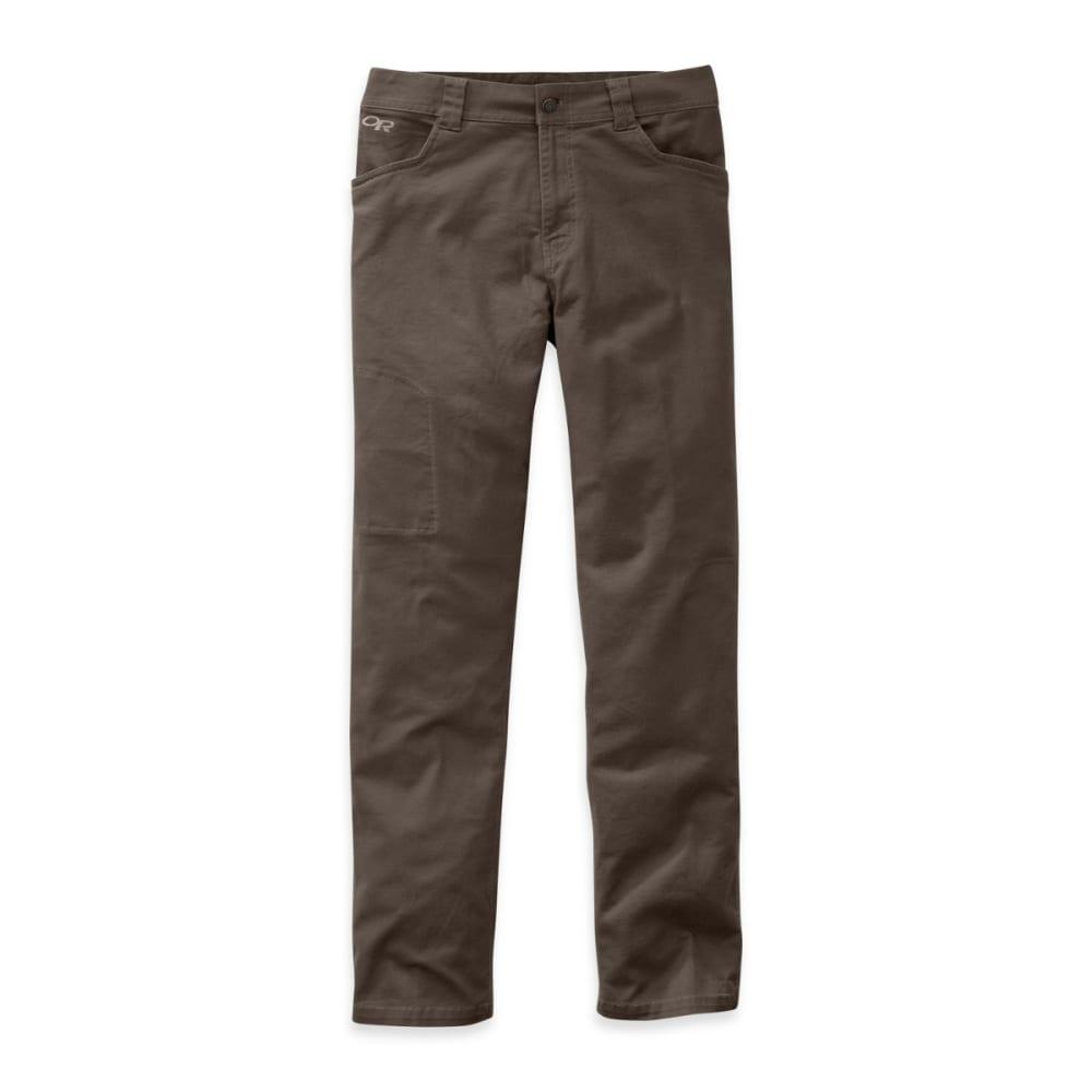 OUTDOOR RESEARCH Men's Deadpoint 30in Pants - MUSHROOM