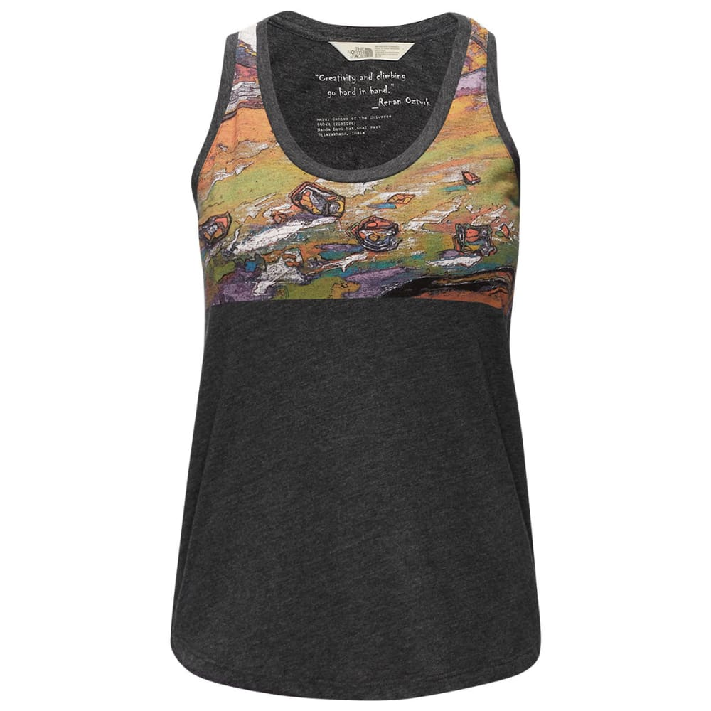 THE NORTH FACE Women's Renan Tank - DYZ-DRK GRY HTHR