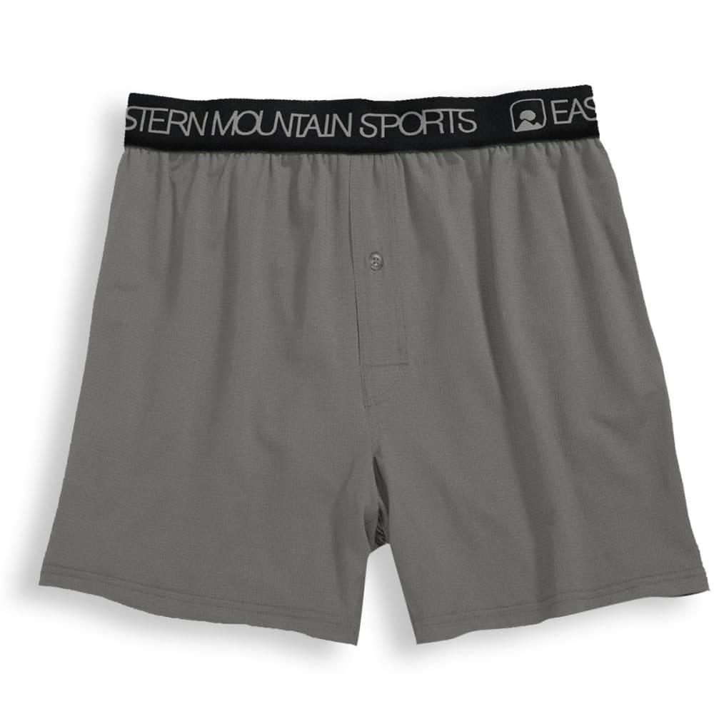 EMS Men's Techwick Boxers, 2 Pack - PEWTER/BLACK ASSORT