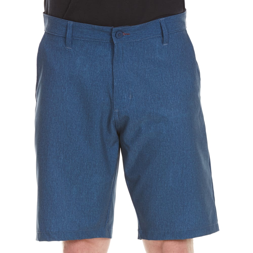 BURNSIDE Guys' Dual Function Shorts - DENIM