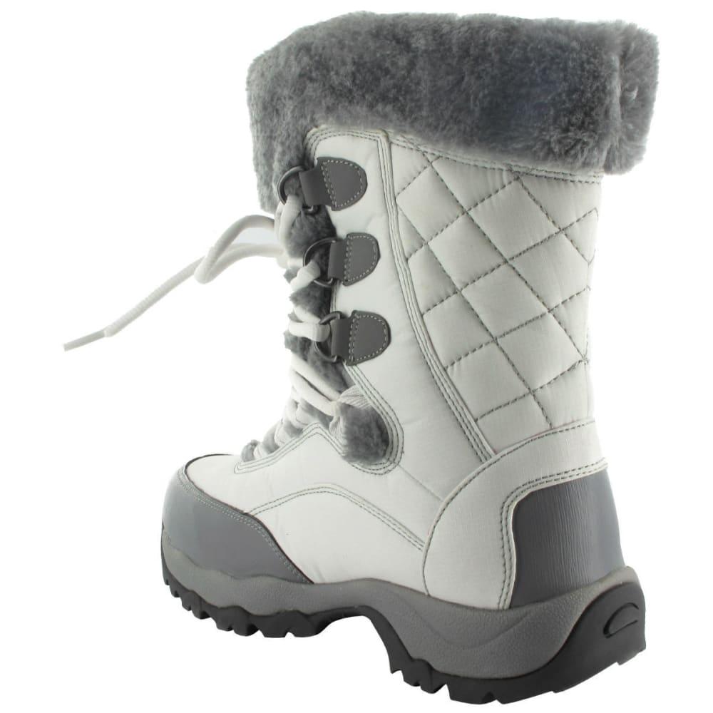 HI-TEC Women's St/ Moritz Lite 200 I WP Boots, White/Grey - WHITE/GREY