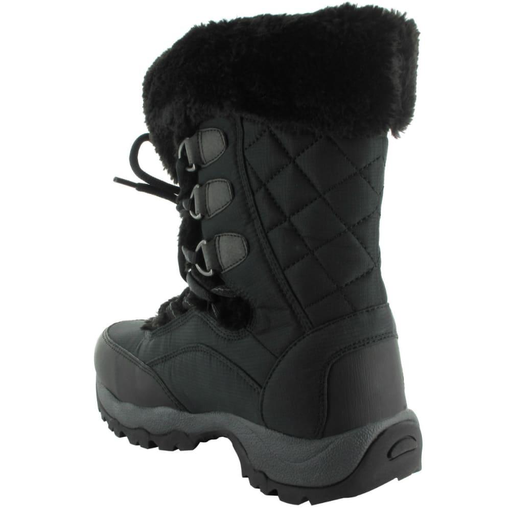 HI-TEC Women's St. Moritz 200 I WP Boots, Black/Charcoal - BLACK/CHARCOAL