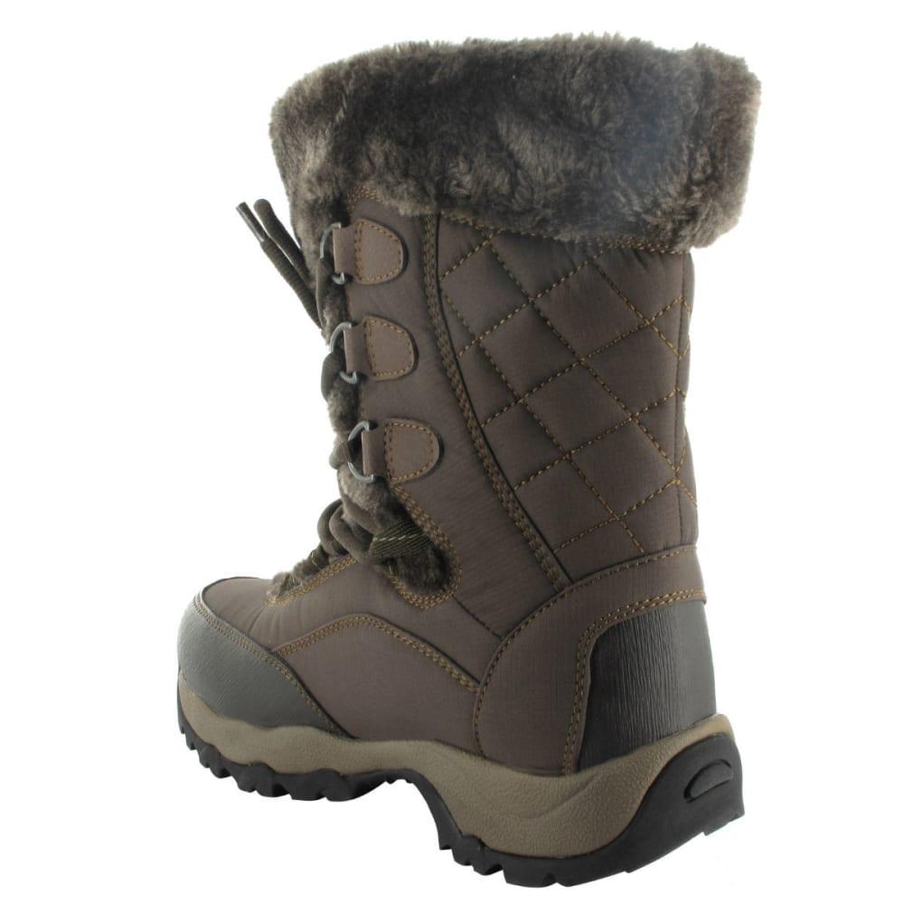 HI-TEC Women's St. Moritz Lite 200 I WP Boots, Dark Chocolate/Taupe - DK CHOC/TAUPE