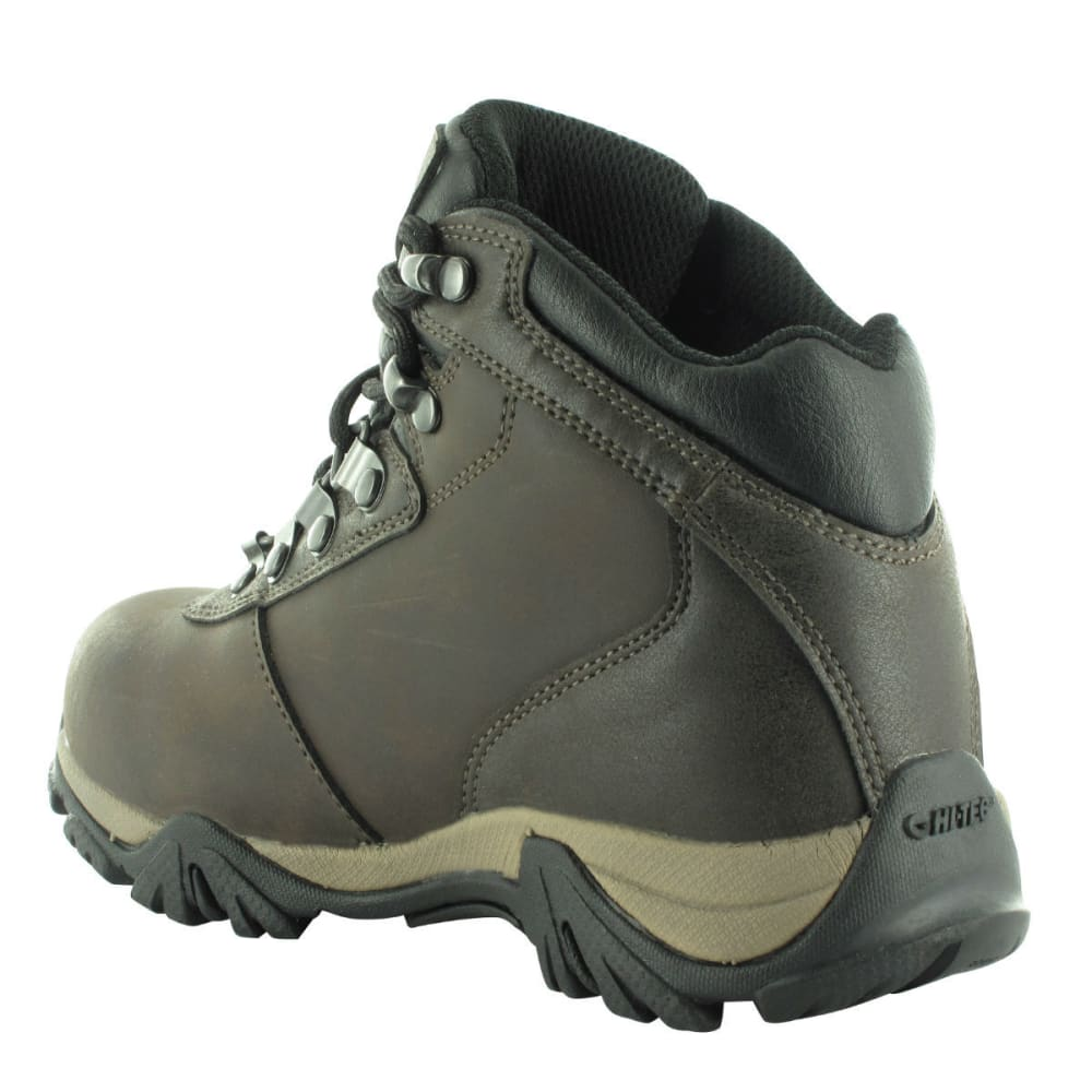 HI-TEC Boys' Altitude V WP Boots, Dark Chocolate - DARK CHOCOLATE