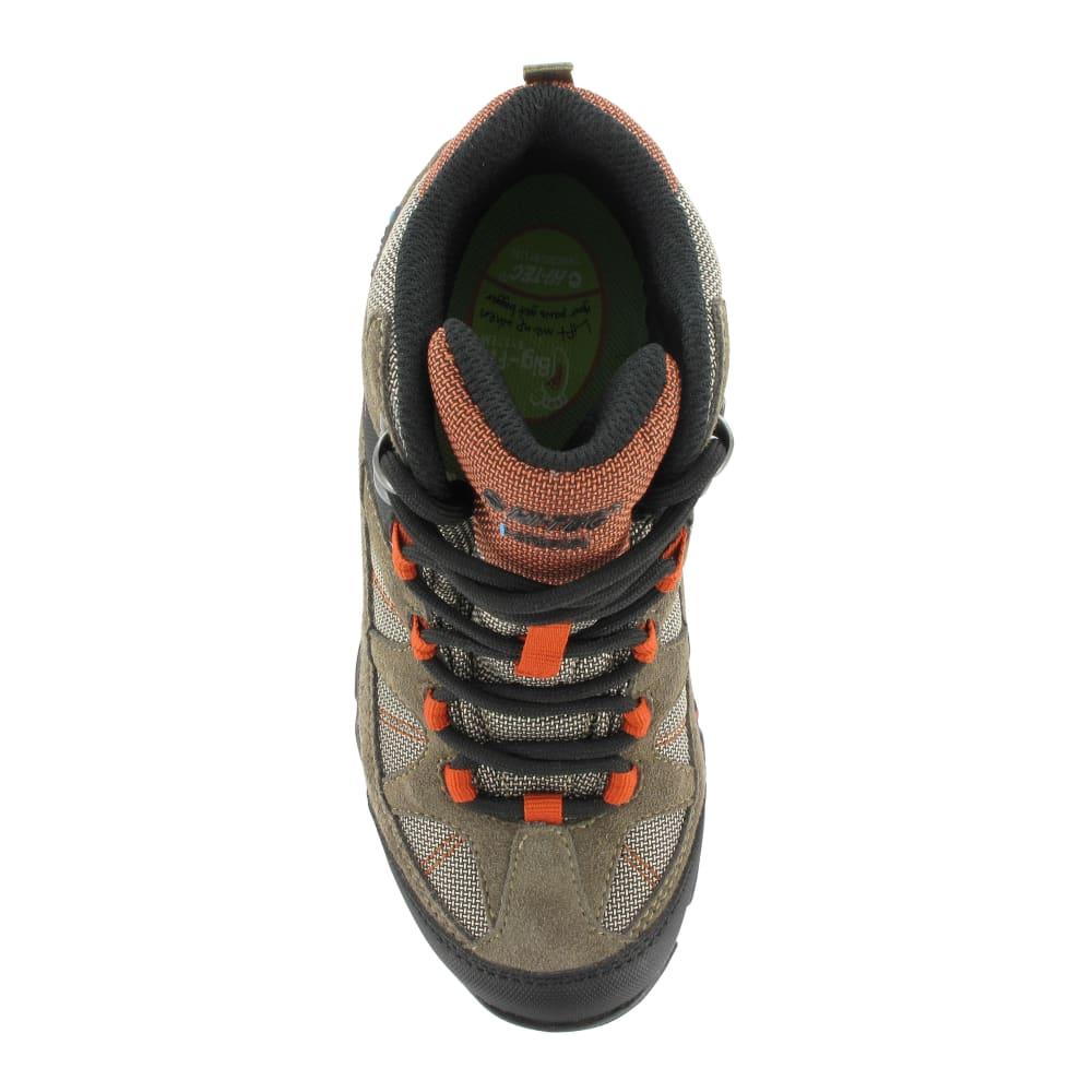 HI-TEC Boys' Altitude Lite I WP Boots, Smokey Brown/Taupe/Red Rock - SMOKEY BROWN/RD RK