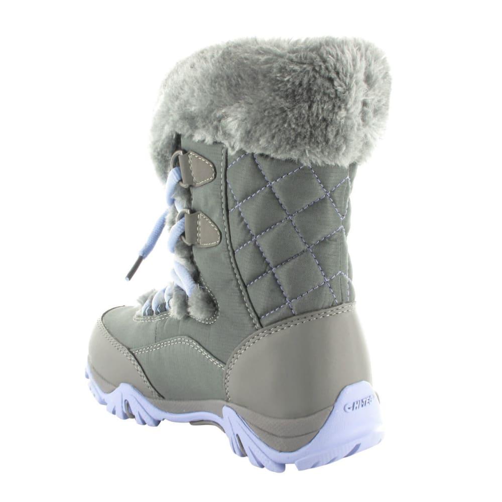 HI-TEC Girls' St Moritz Lite 200 WP Jr. Boots - CHARC/STL GRY/LUSTR