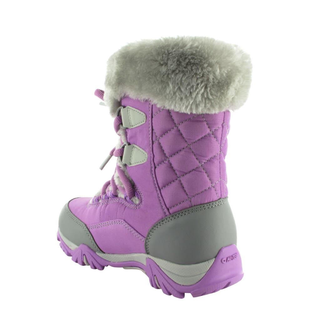 HI-TEC Girls' St. Moritz Lite 200 WP Boots, Orchid/Cool Grey - ORCHID/COOL GREY