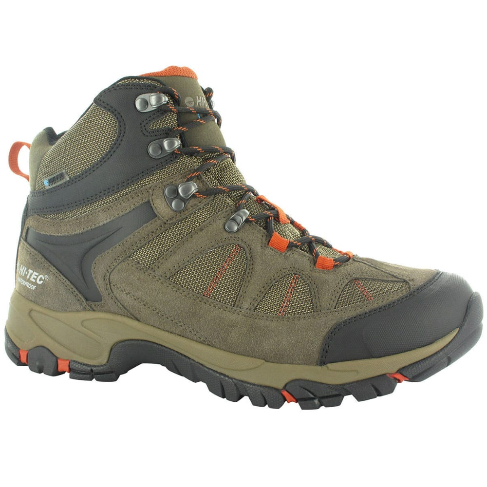 HI-TEC Men's Altitude Lite i Waterproof Hiking Boots, Wide - SM BRWN/T/RR