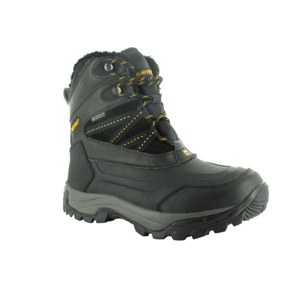 HI-TEC Men's Snow Peak 200 Peak Boots, Black/Gold - BLACK/GOLD