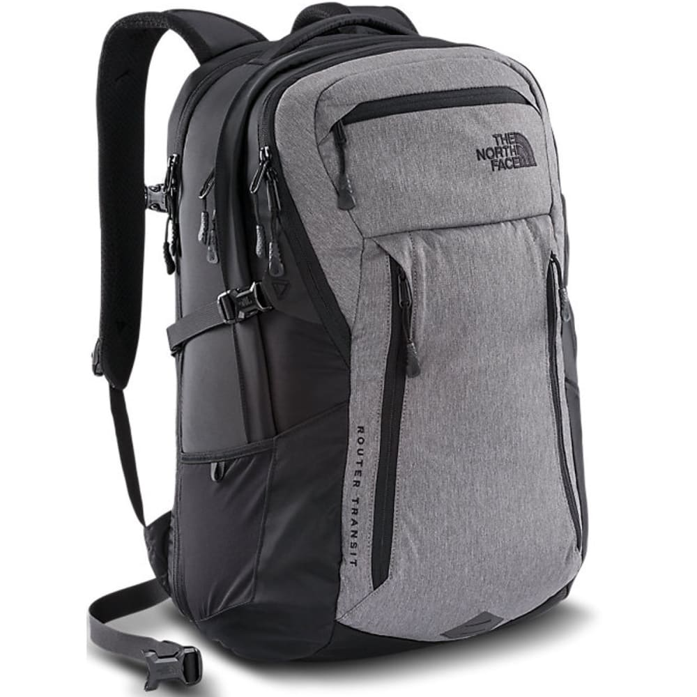 THE NORTH FACE Router Transit Backpack - TNF MEDIUM GREY HTHR