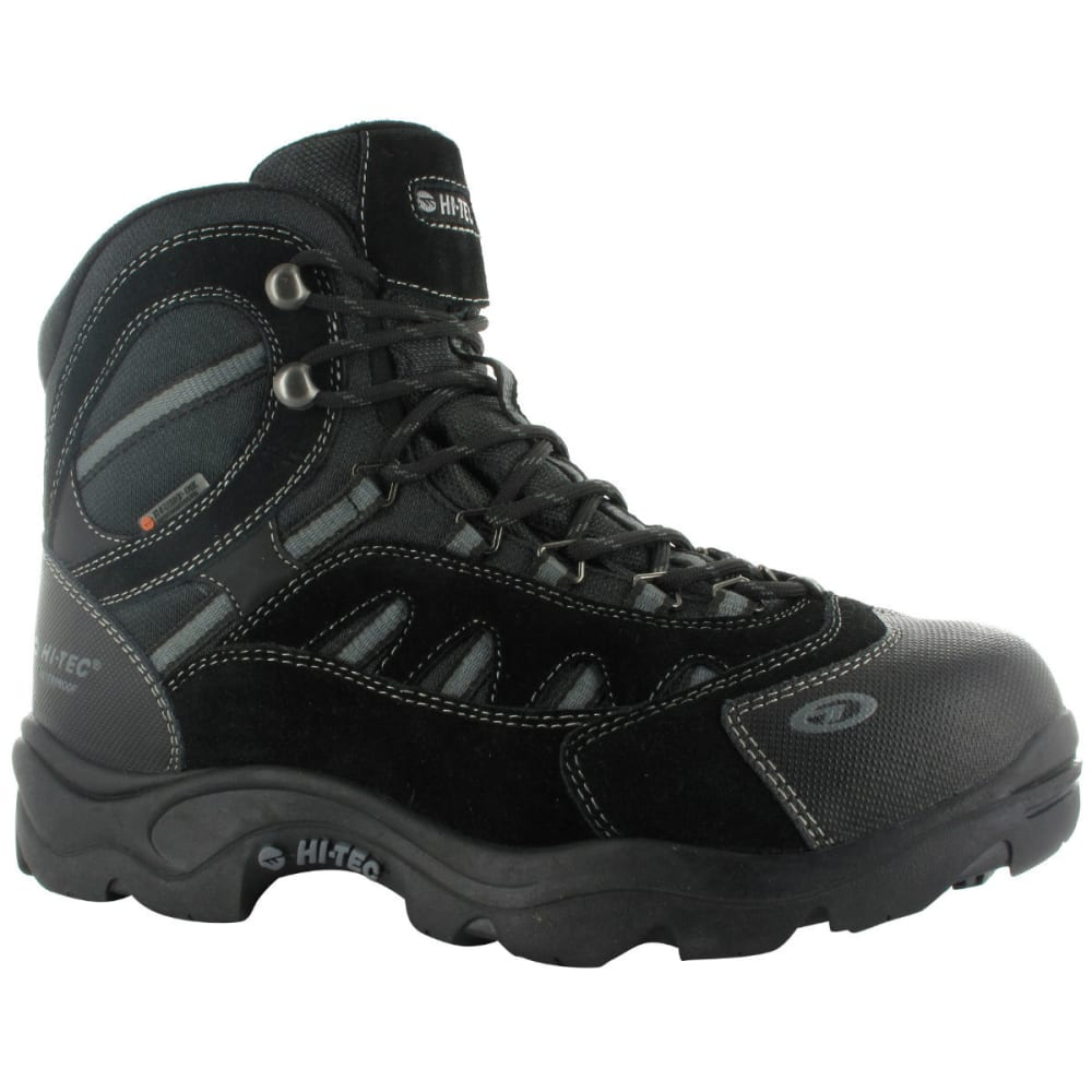 HI-TEC Men's Bandera Mid 200 WP Boots - BLACK/CHARCOAL