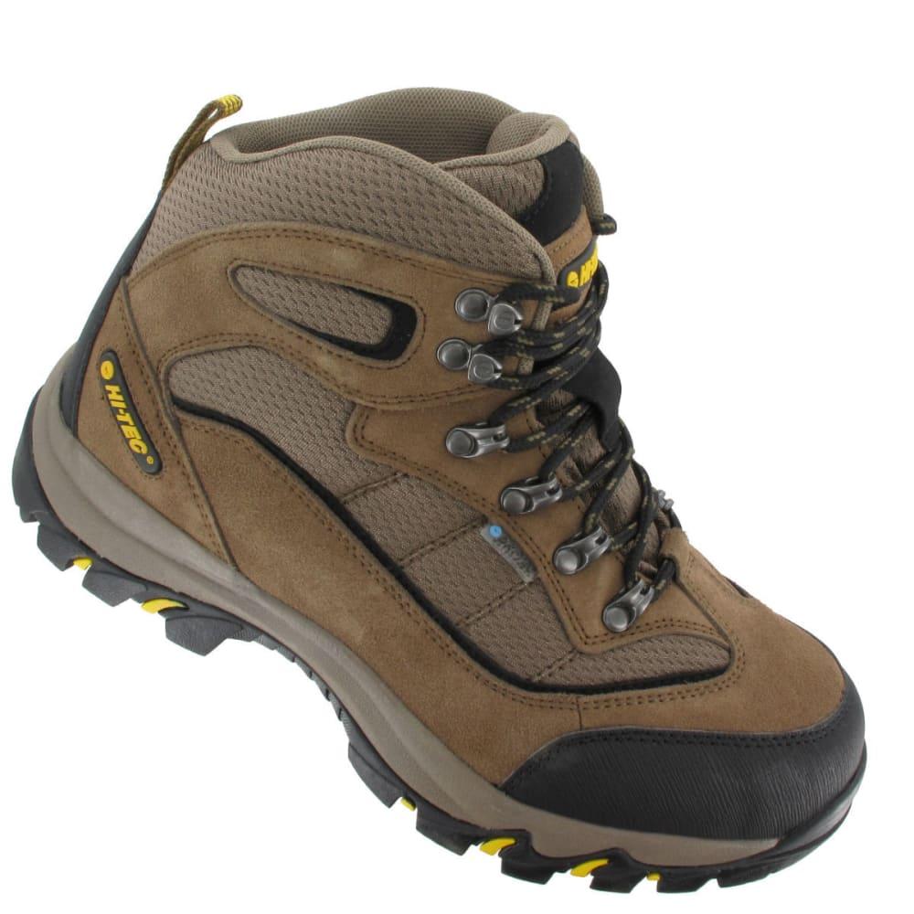HI-TEC Men's Skamania Mid Waterproof Boots, Wide - BROWN/GOLD