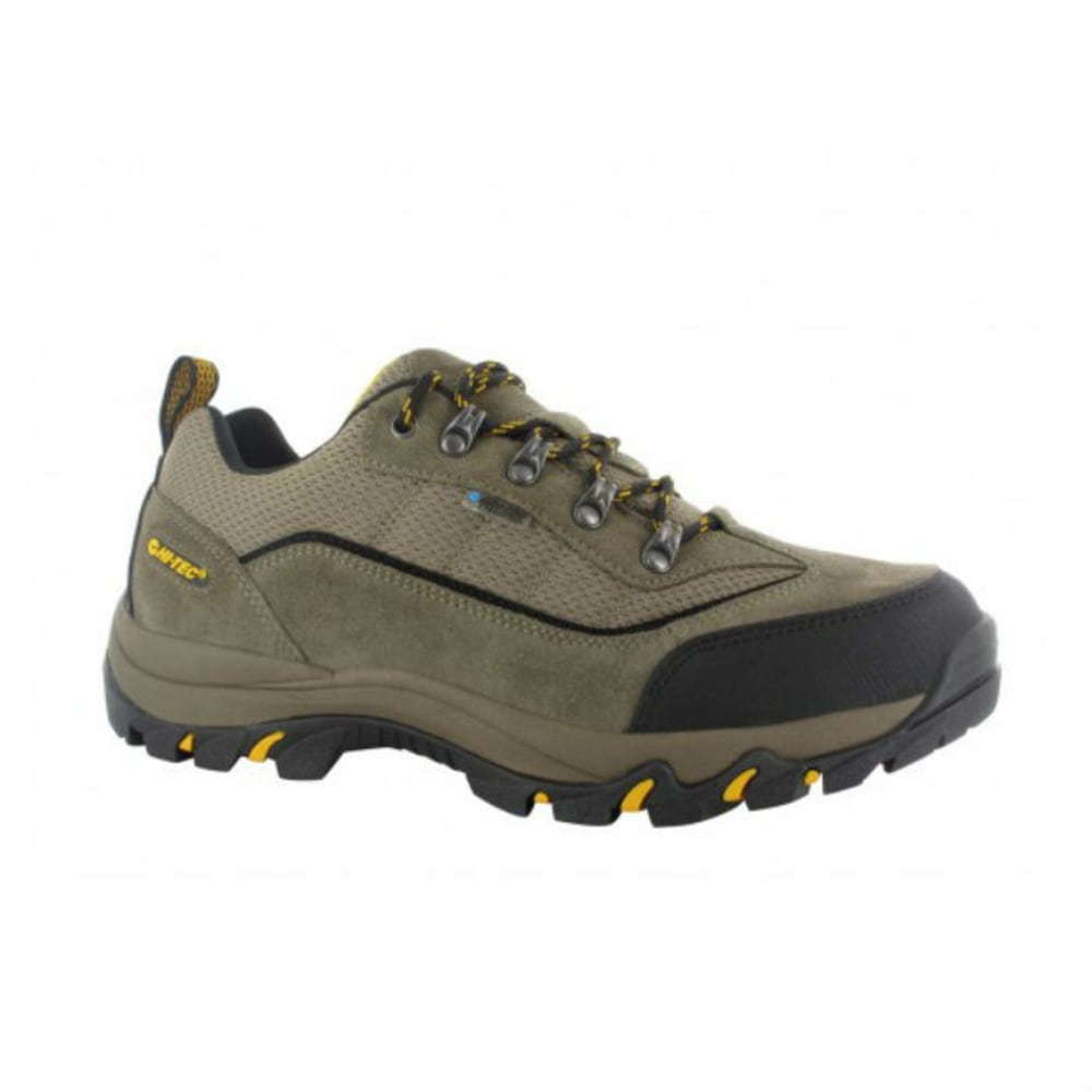 HI-TEC Men's Skamania Low WP Hiking Shoes, Smokey Brown/Taupe/Gold - SMOKEY BROWN/TAUP/GL