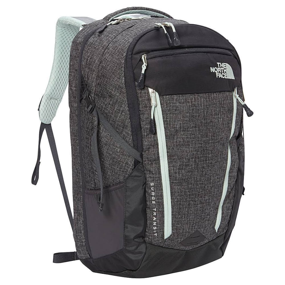 THE NORTH FACE Women's Surge Transit Backpack  - ASPHALT GREY HEATHER