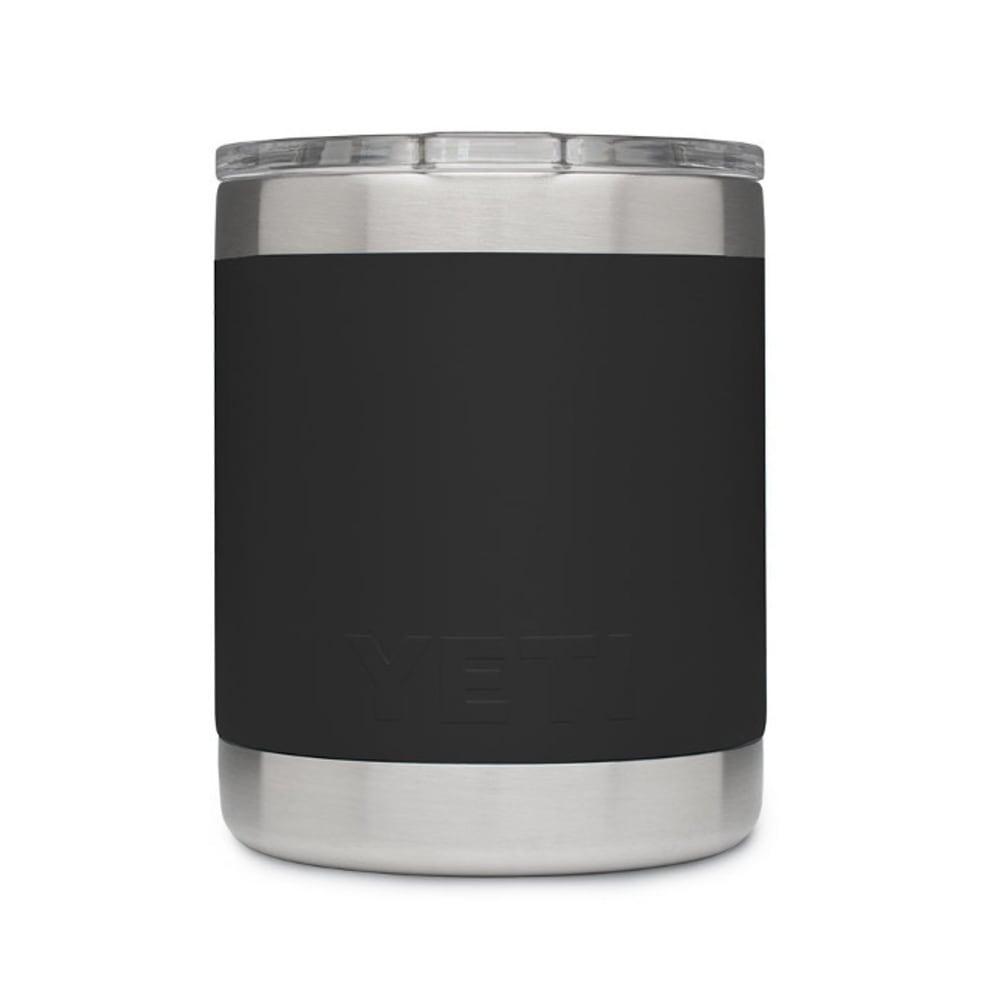 YETI 10 oz. Rambler Lowball Bottle with Lid - BLACK