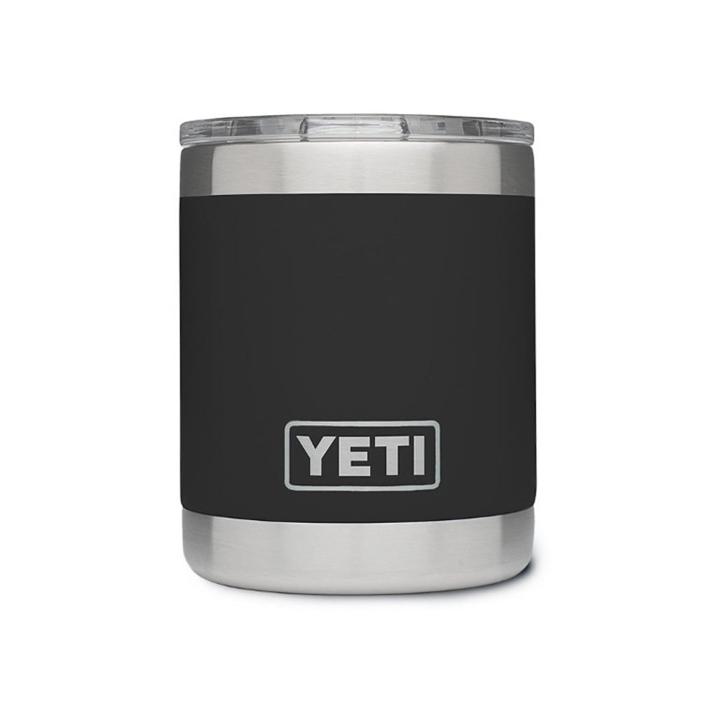 Yeti 10 Oz. Rambler Lowball Bottle With Lid - Black 21071010003