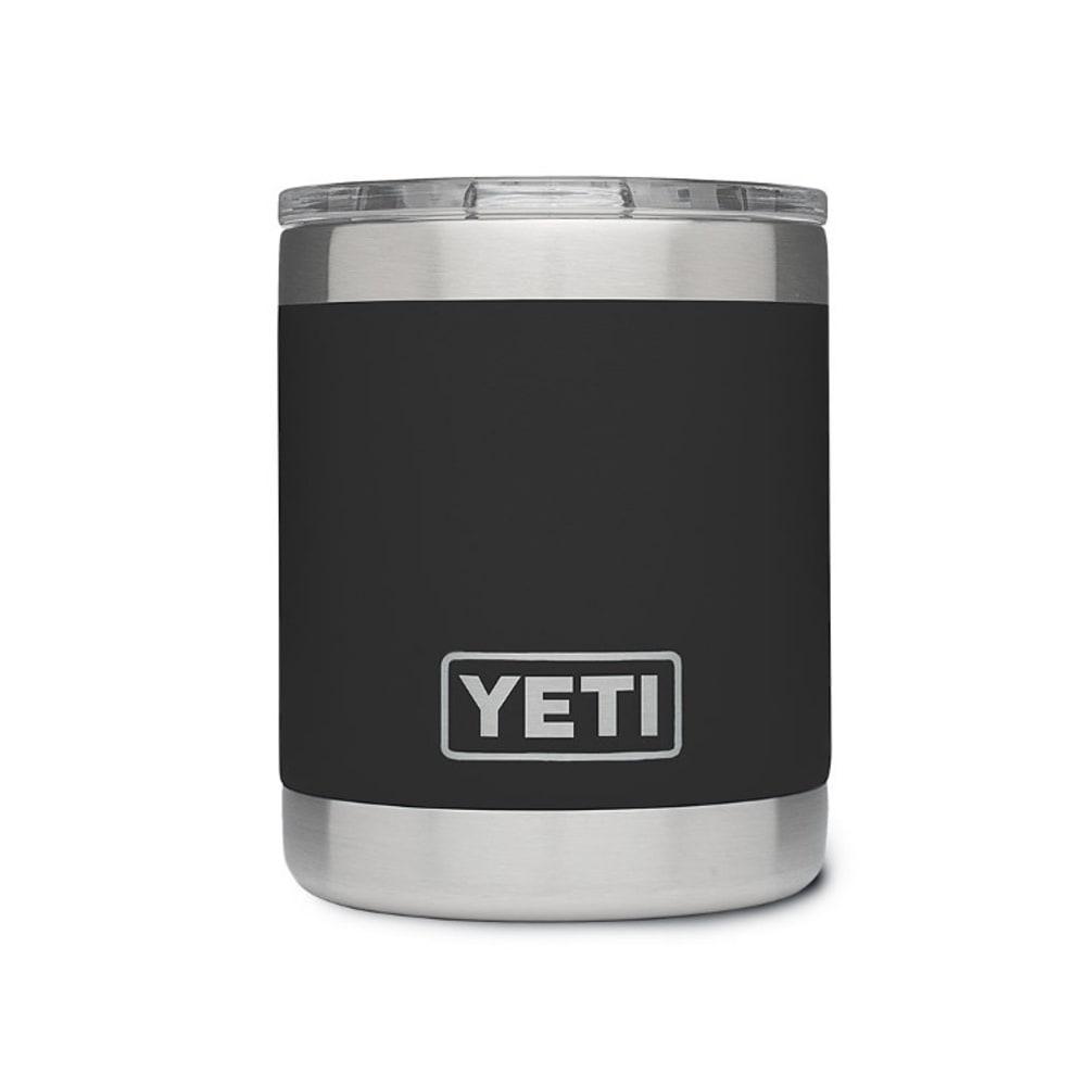 Yeti 10 Oz. Rambler Lowball Bottle With Lid - Black 21071010003