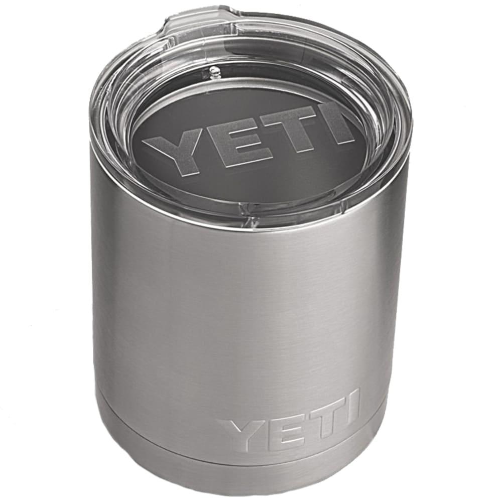 YETI 10 oz. Rambler Lowball Bottle with Lid - STAINLESS