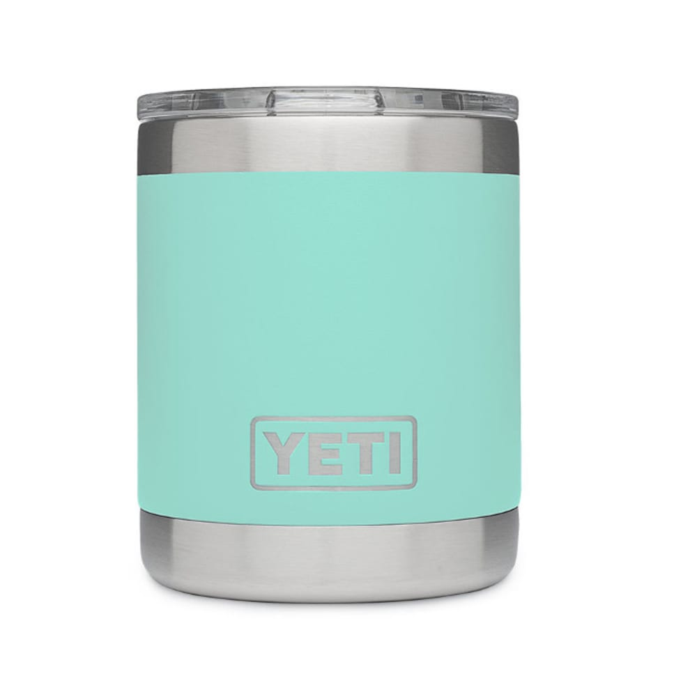 Yeti 10 Oz. Rambler Lowball Bottle With Lid - Green 21071010003