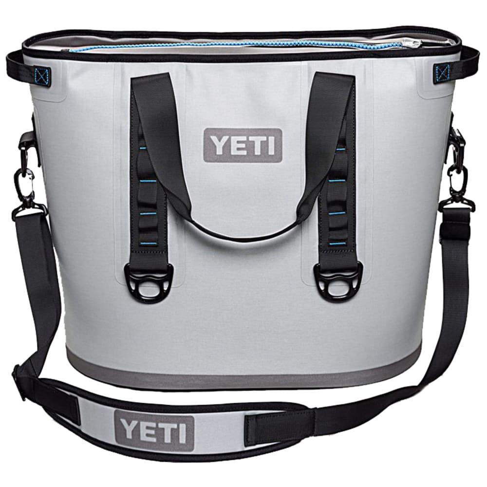 YETI Hopper 40 Soft Cooler - GRAY/BLUE/YHOP40G