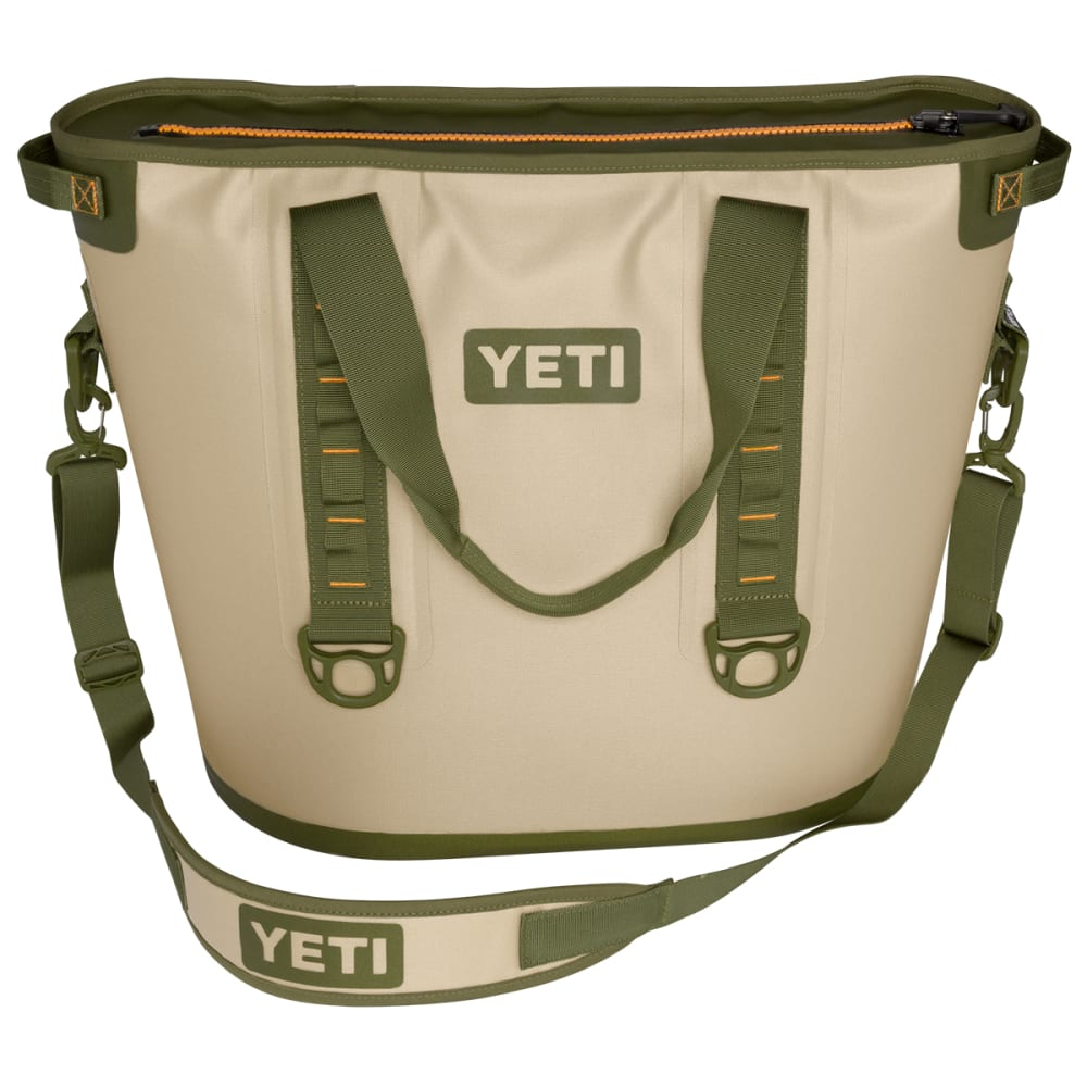 YETI Hopper 40 Soft Cooler - TAN/ORANGE/YHOP40T